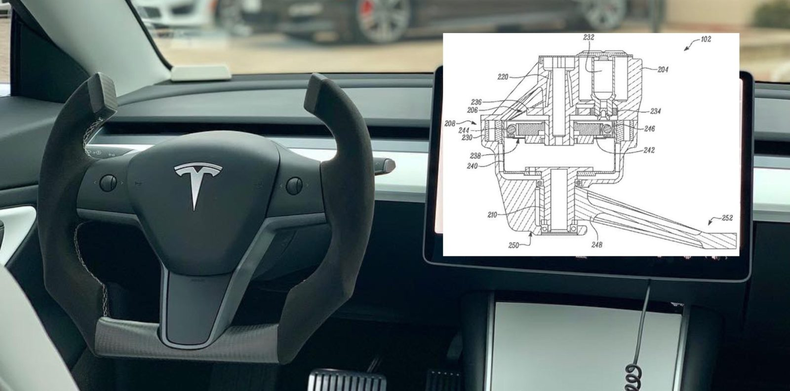 Tesla patents a more efficient power assist steering system