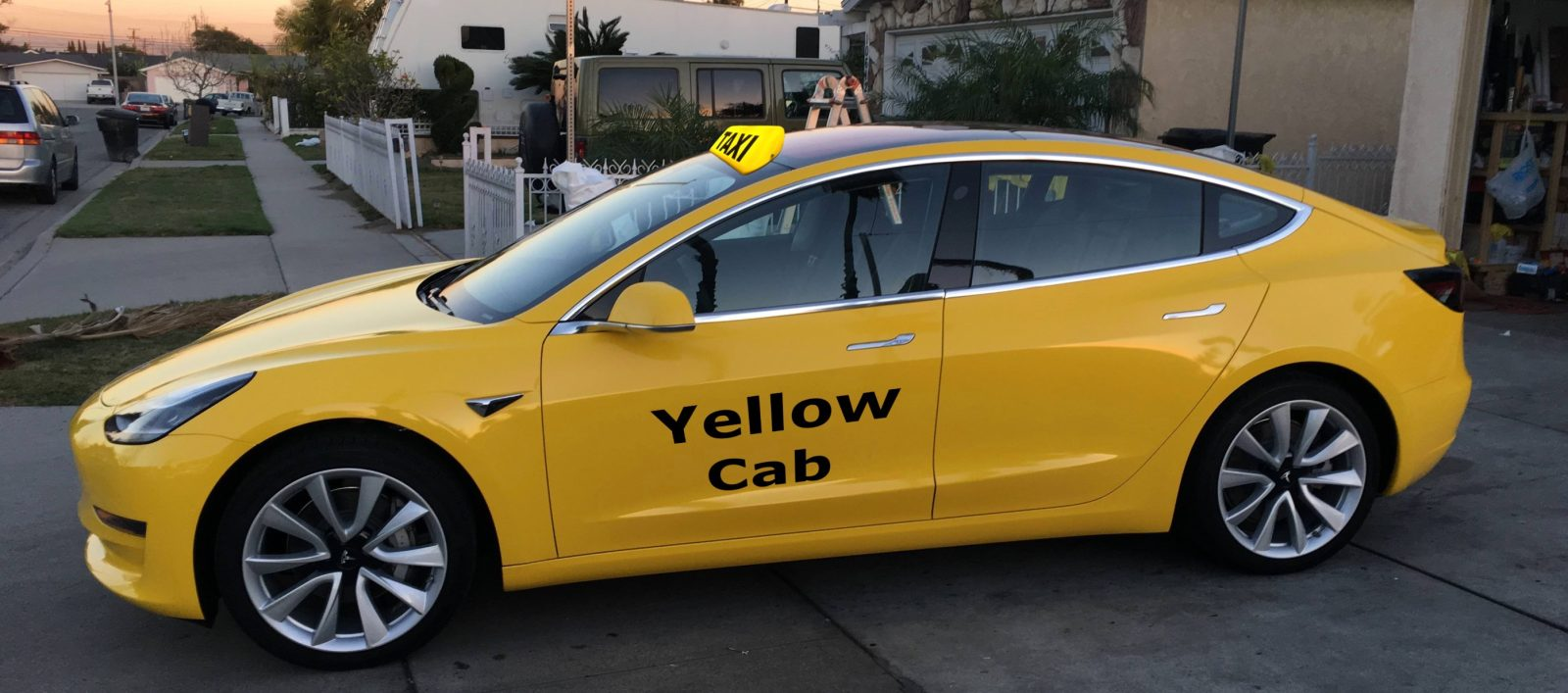 Tesla Model 3 becomes first electric car approved as NYC yellow cab