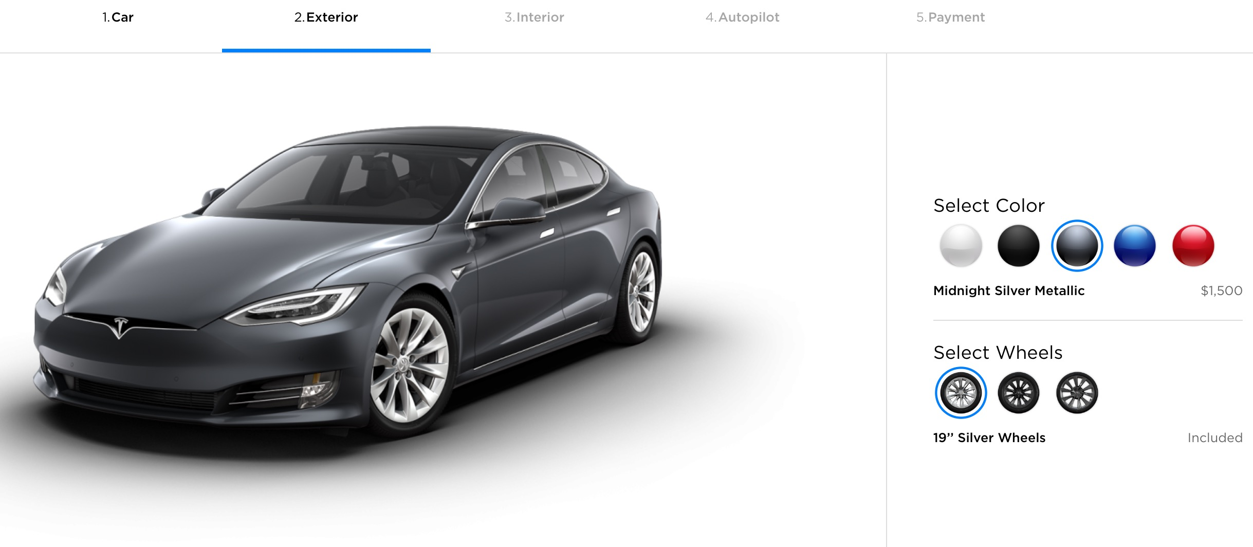 Here Are The Tesla Paint Colors That Best Hold Their Value Electrek