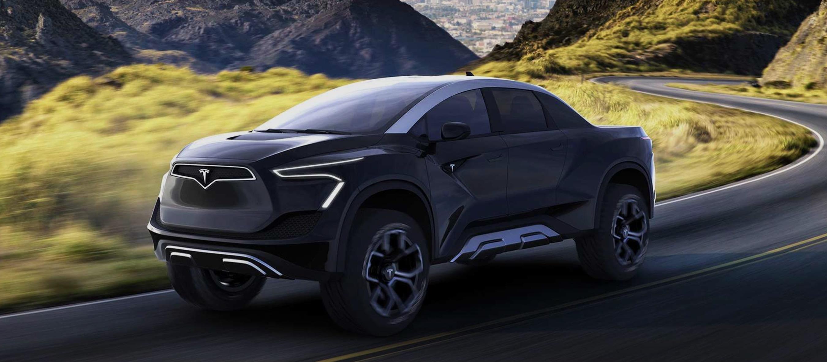 Elon Musk says Tesla Pickup truck looks even more 'Blade Runner-esque' than this - Electrek