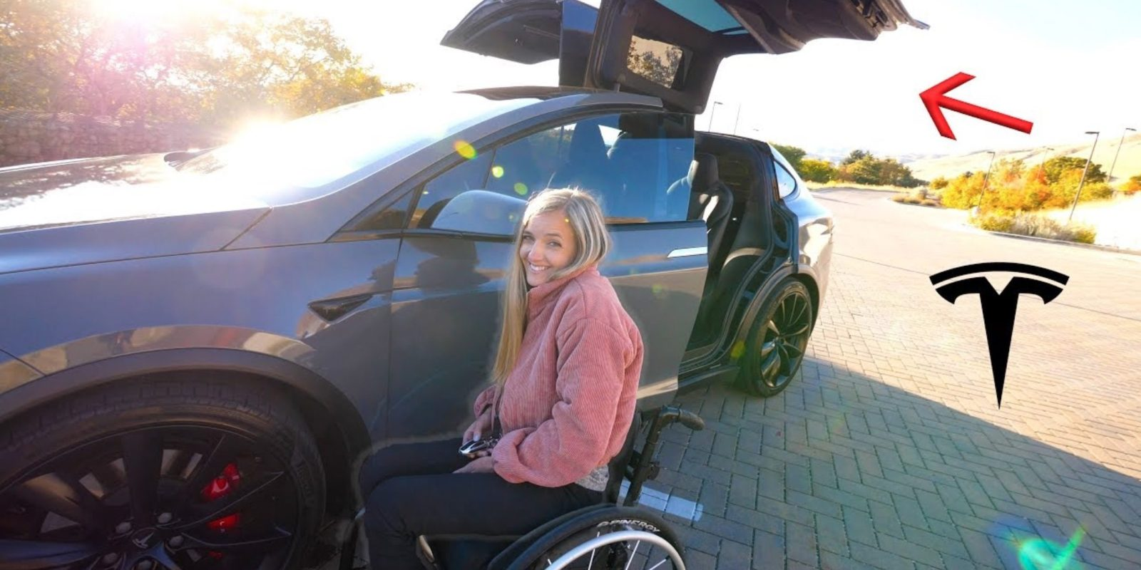 Tesla Smart Summon proves useful for wheelchair users