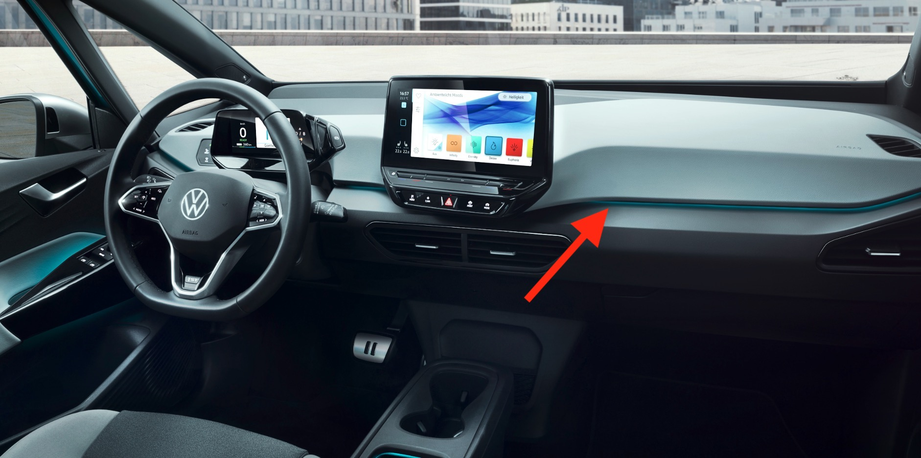 Best Car For Uber >> VW ID.3 electric car 'talks' to driver through a light ...