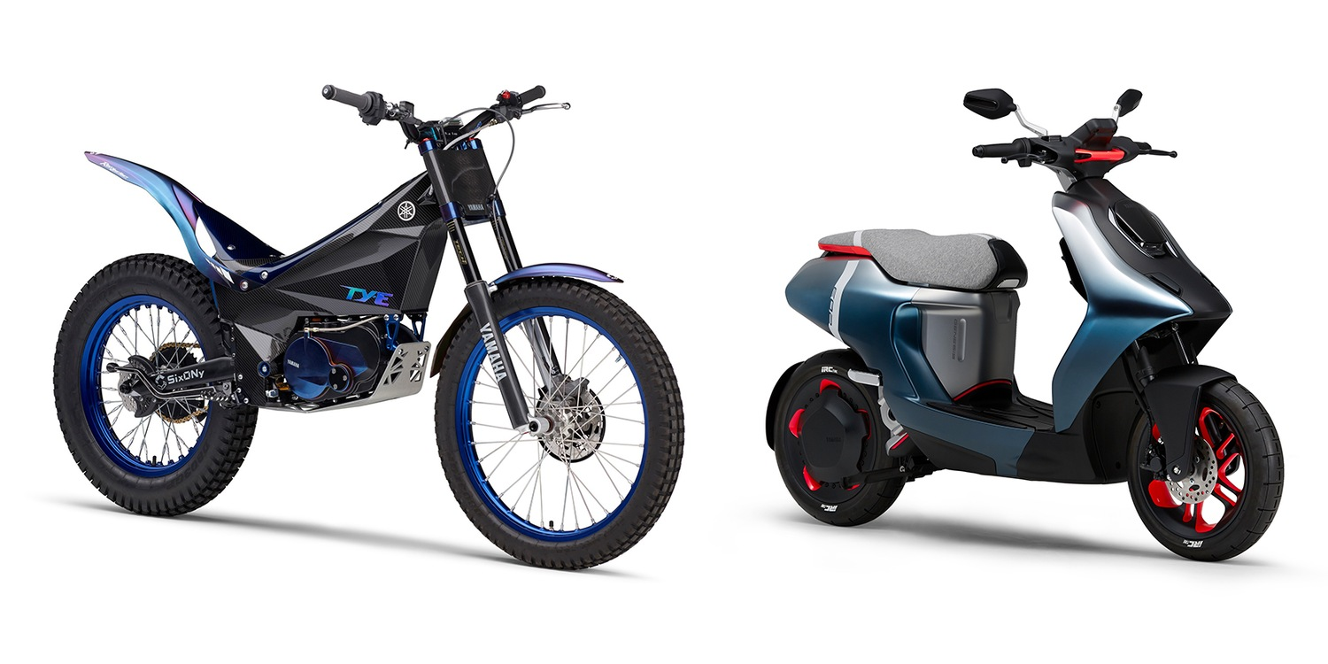 Yamaha announces new electric motorcycles, scooters and more in huge EV push