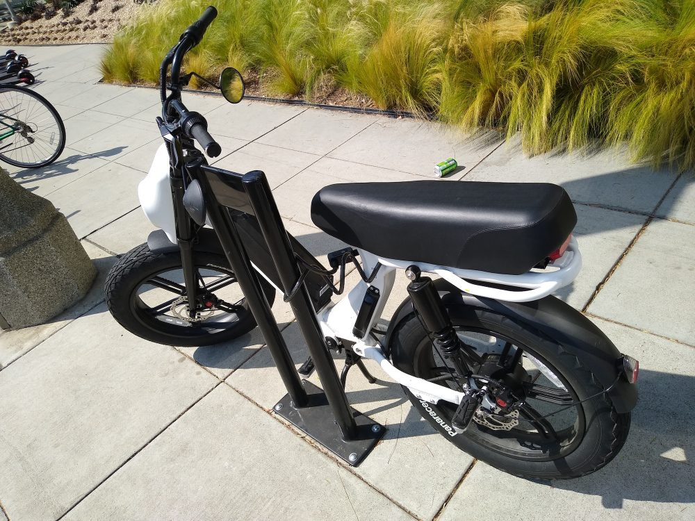 bird cruiser electric moped scooter