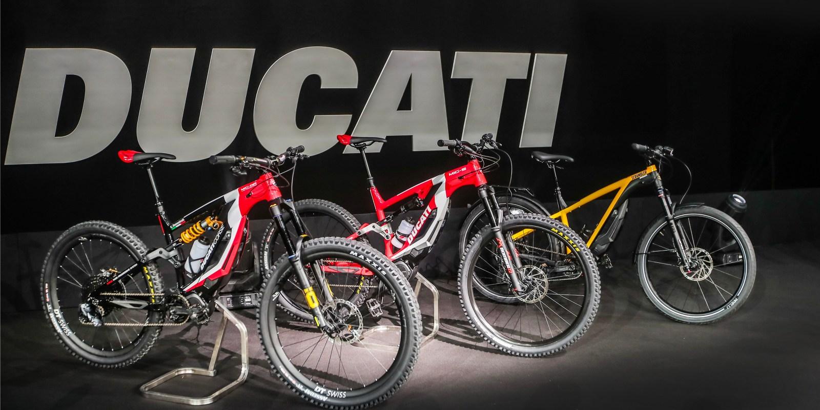 ducati electric bicycles