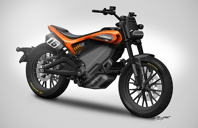 harley-davidson mid-weight electric motorcycle