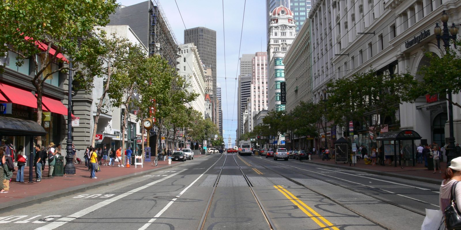 Cars banned on San Francisco's Market Street in favor of alt-transportation