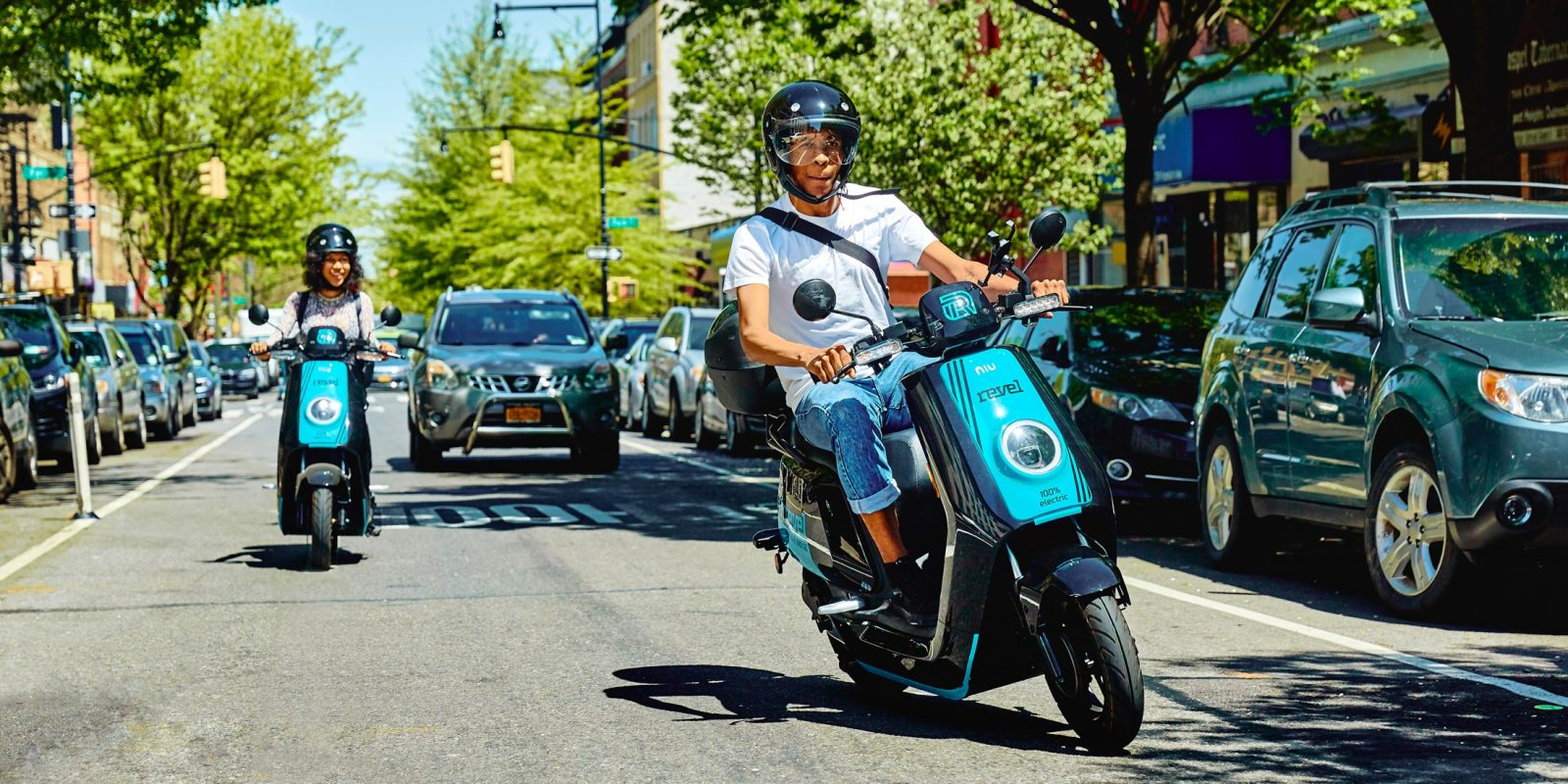 Hey America, you ready for electric mopeds? Because here they come!