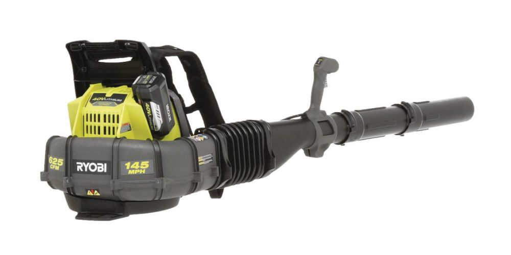 Ryobi S 40v Cordless Electric Backpack Leaf Blower Is 239 In Today S Green Deals More Electrek