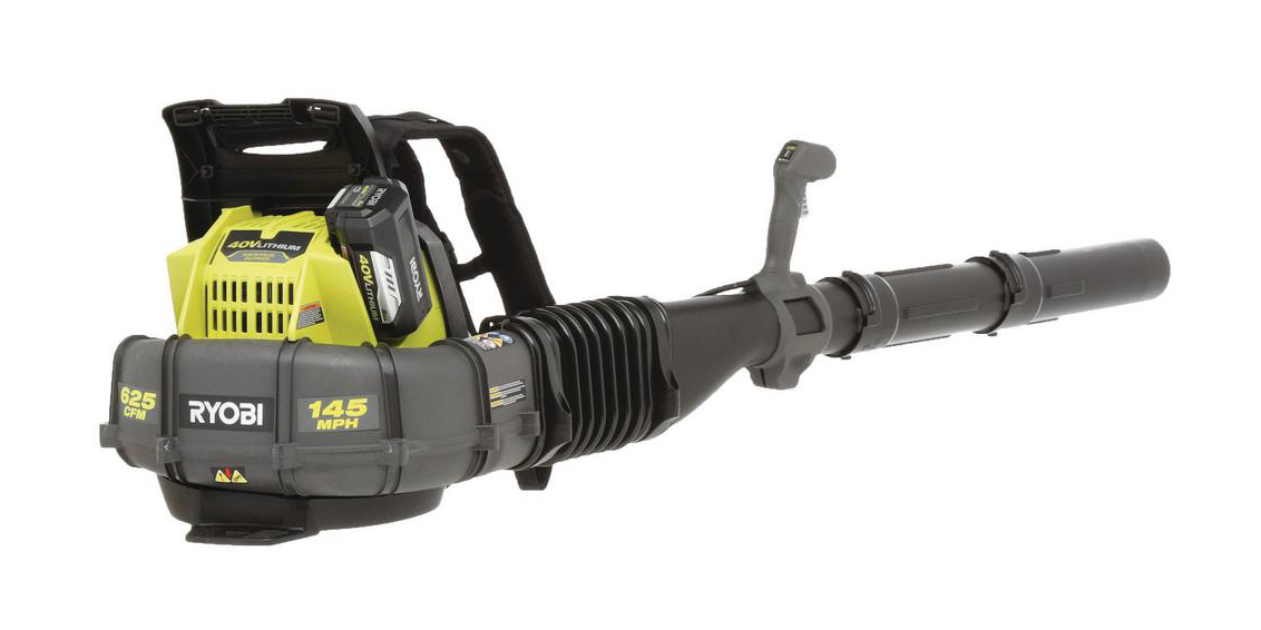 Ryobi's 40V Cordless Electric Backpack Leaf Blower is $239 in today's Green Deals, more