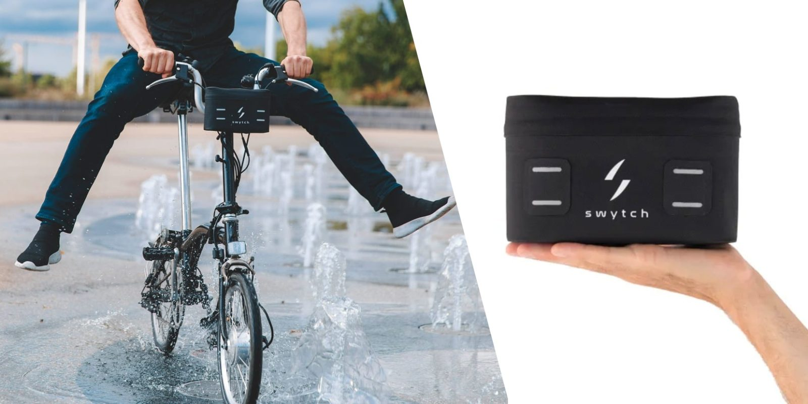 Swytch unveils 'world's smallest' electric bike conversion kit for just $394