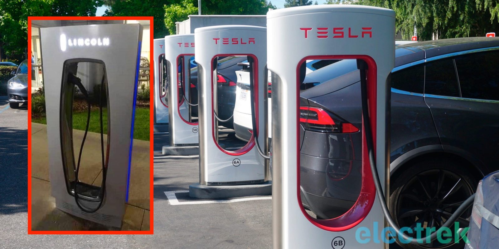 Ford copies Tesla Supercharger design, but it should copy its charging business model