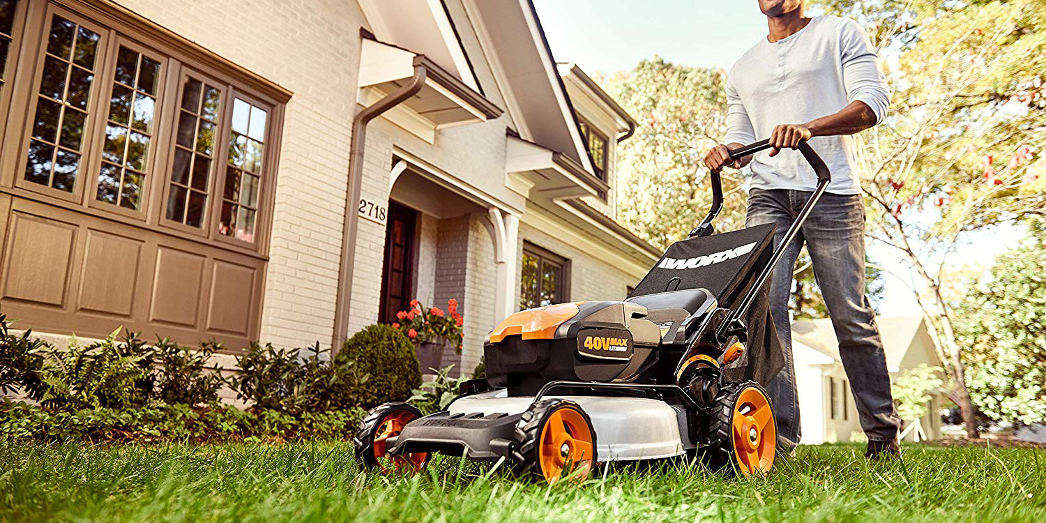 WORX 20-inch Electric Cordless Lawn Mower is $237 (Reg. $350), more in today's Green Deals