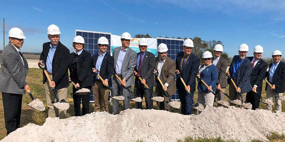 Florida's new solar installation: a big step for the state's utilities, a small step overall