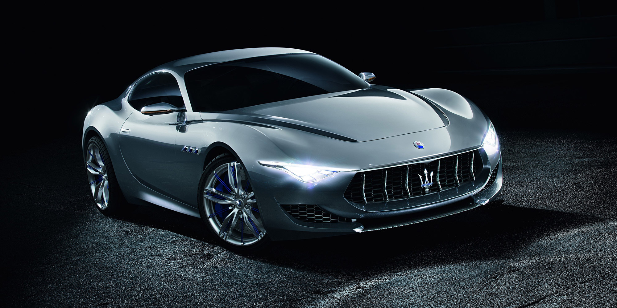 An electric Maserati Alfieri is promised by 2020