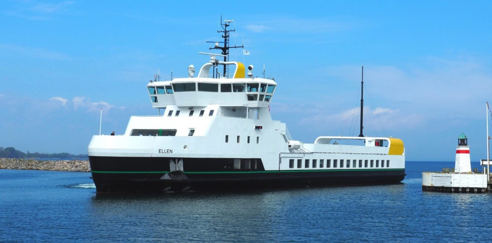 All-electric ferry with longest range in operation saves 2,000 tons of CO2 a year