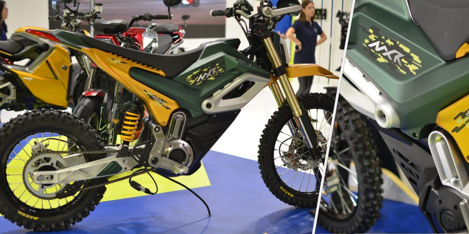 Ottobike unveils impressive 75 MPH (120 km/h) electric dirt bike for 2020