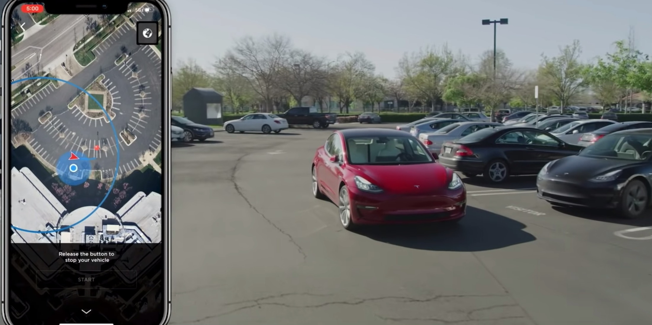 Your Tesla could soon drop you off and go find its own parking spot - Electrek