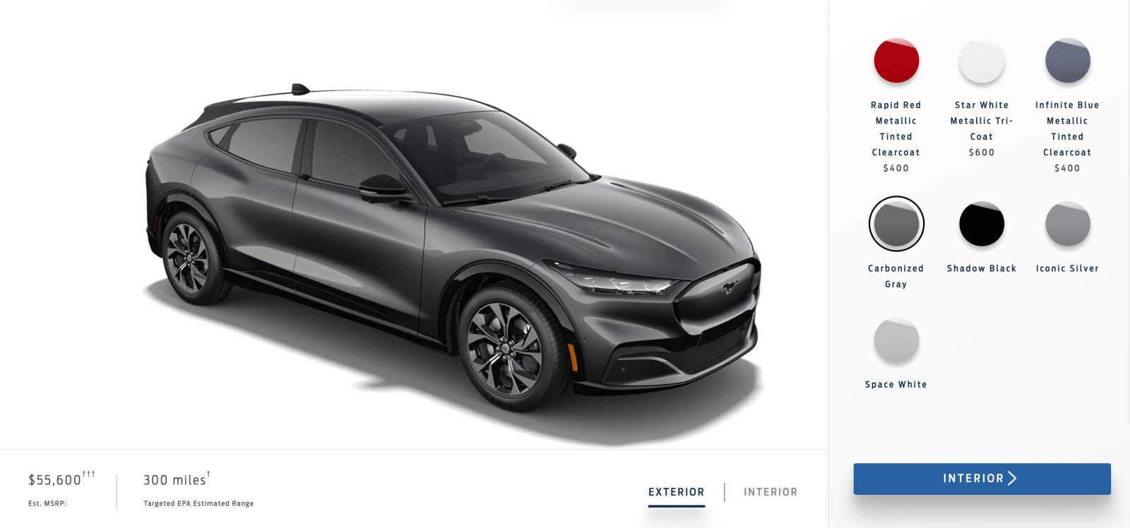 Ford launches reservation website for new Mustang Mach E for $500