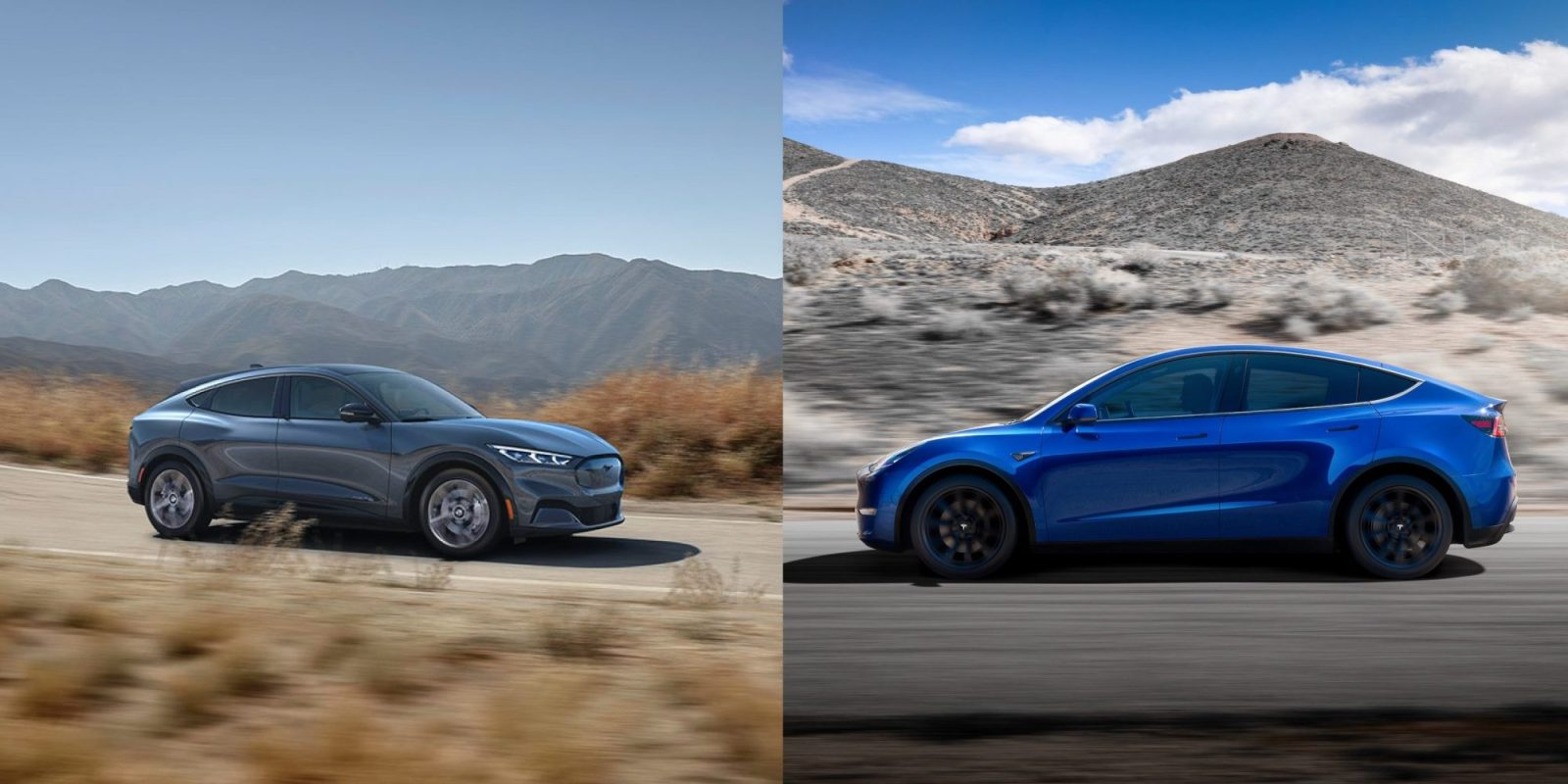 Survey finds consumers are split between Ford Mustang Mach E and Tesla Model Y