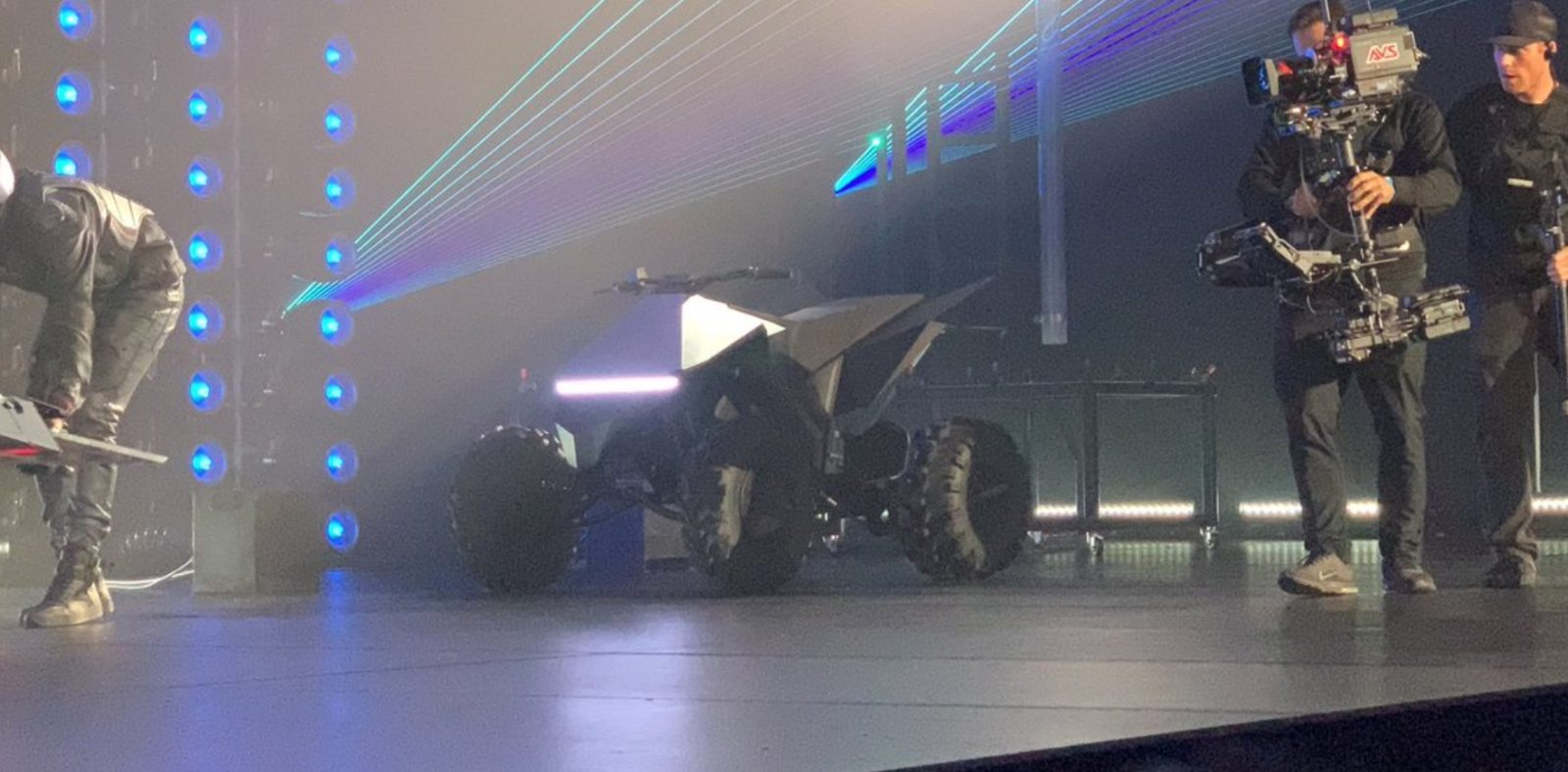 Tesla unveils stunning electric ATV 'Cybersquad' with its pickup truck