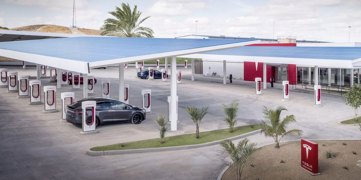Tesla updates Supercharger billing to add cost of electricity use for other than charging