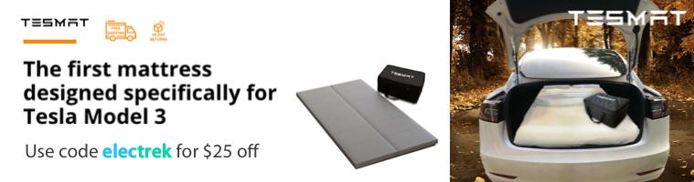 Tesla Model 3 mattress