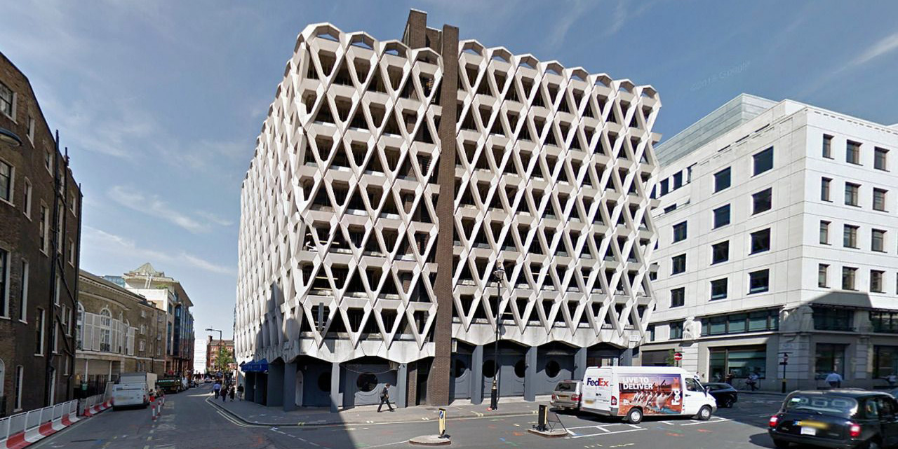 Welbeck Street parking garage