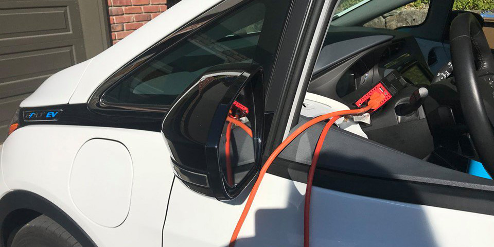 EVs are not a problem during California fire season, they're the friggin' solution