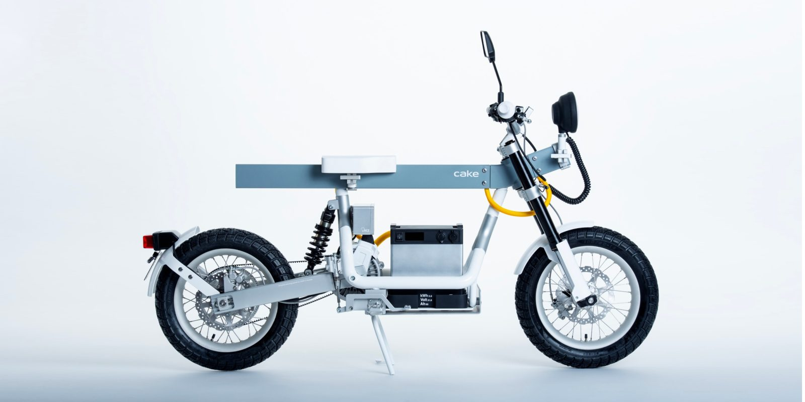CAKE unveils new 63 mph electric motorcycle that is a workbench on wheels