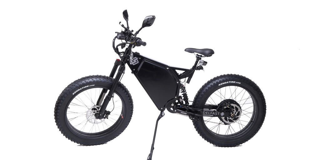 Delfast Offroad is a new 50 MPH electric fat tire bike with 100+ mile range