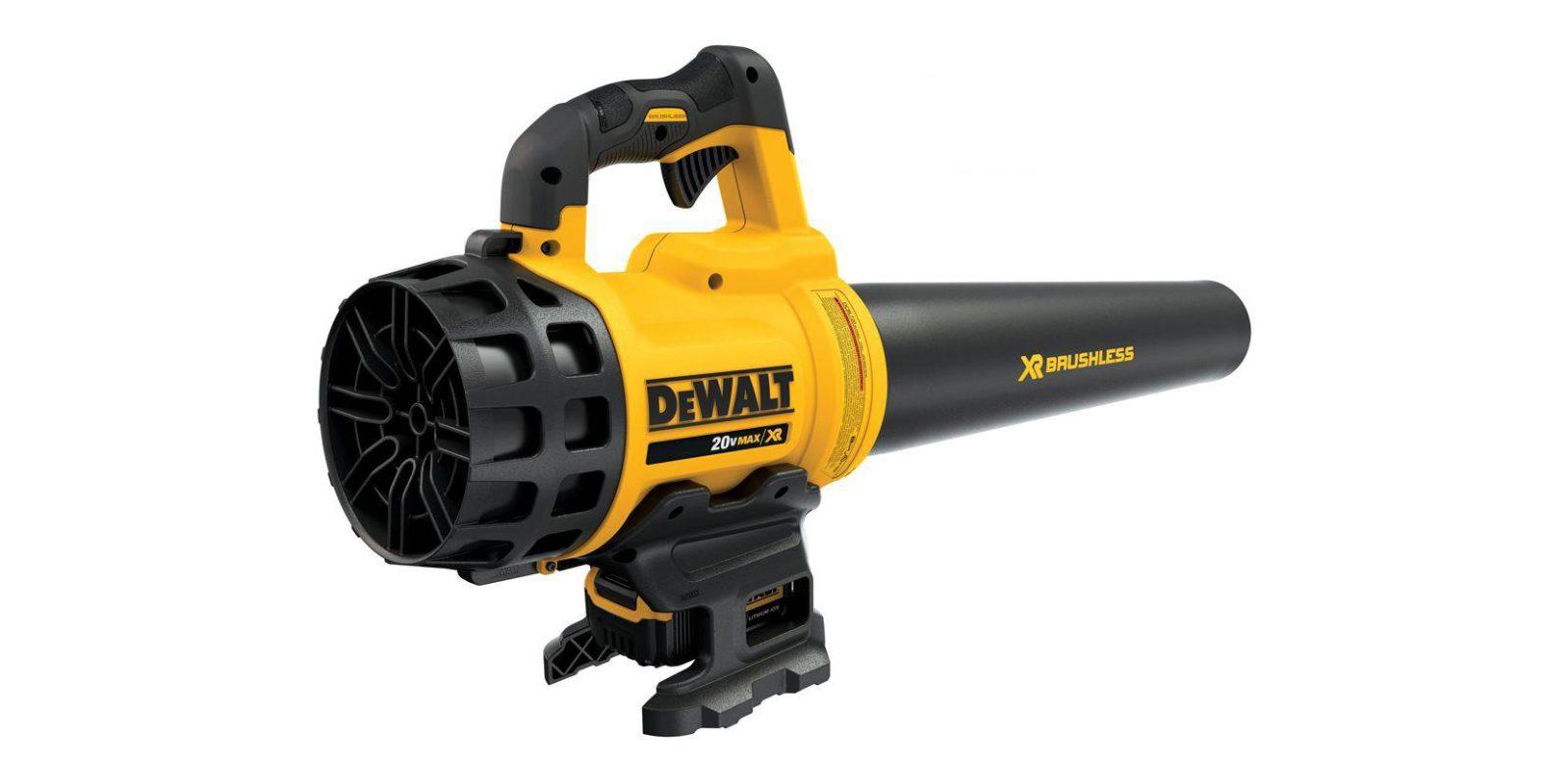 DEWALT 20V Cordless Electric Leaf Blower $179, more in today's Green Deals