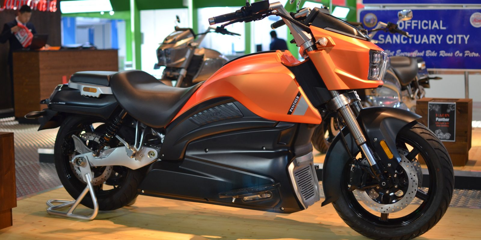 It turns out that this American-style cruiser electric motorcycle is legit