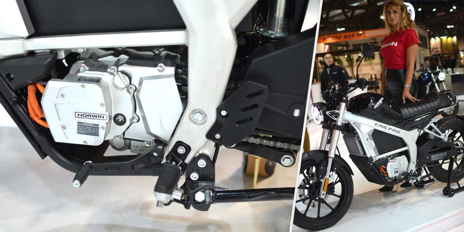 Horwin's 65 MPH gear-shifting electric motorcycles actually look pretty rad