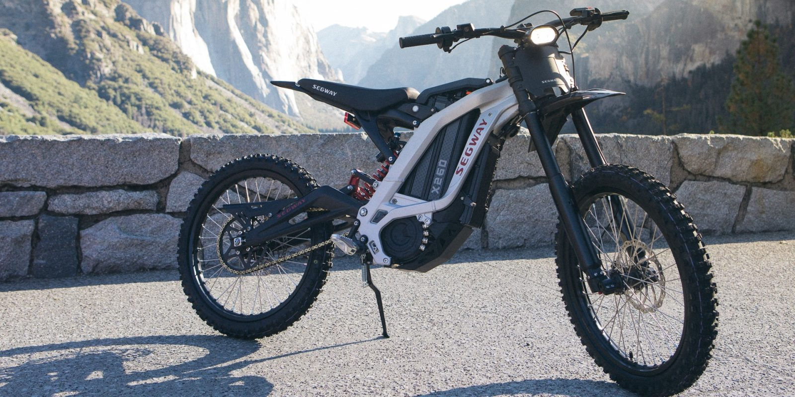 Segway unveils electric dirt bike as the company expands into e-powersports