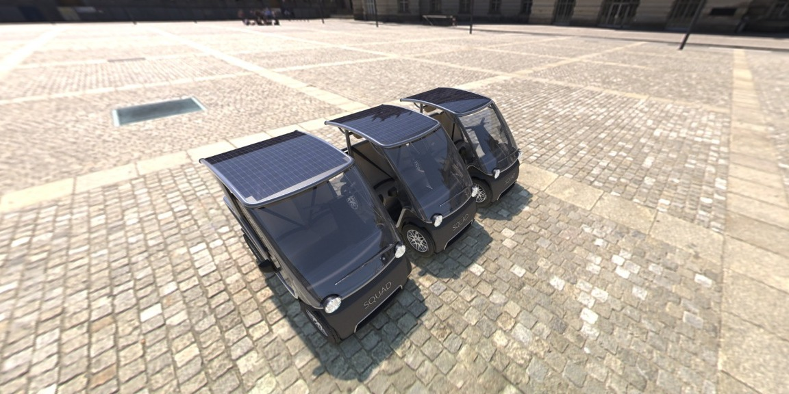 Squad 2-seater solar car is what cities need right now – and it's taking orders