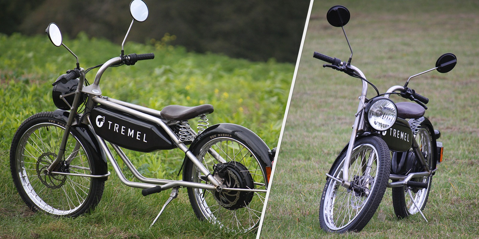 This 3 kW vintage-style electric moped has nailed the classic look