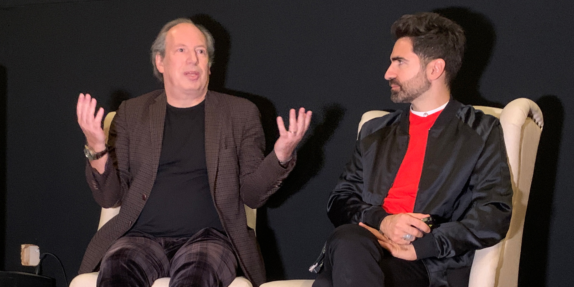 Hans Zimmer and BMW's Renzo Vitale
