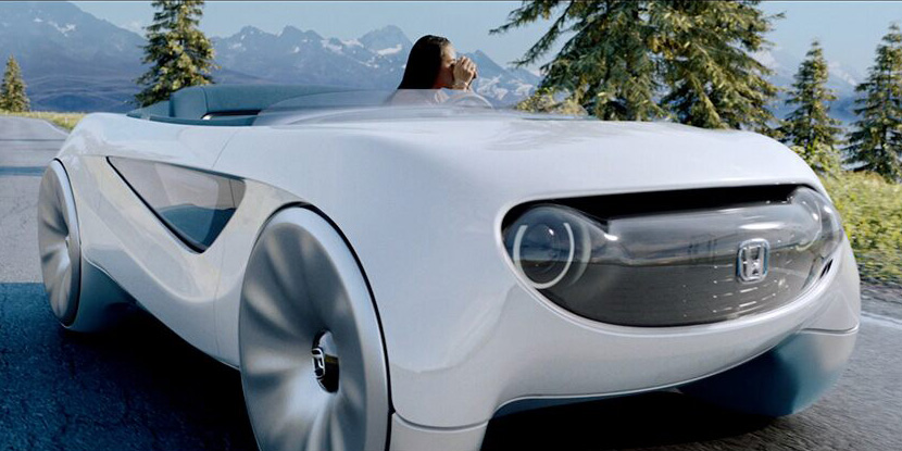 Honda's Augmented Driving Concept car