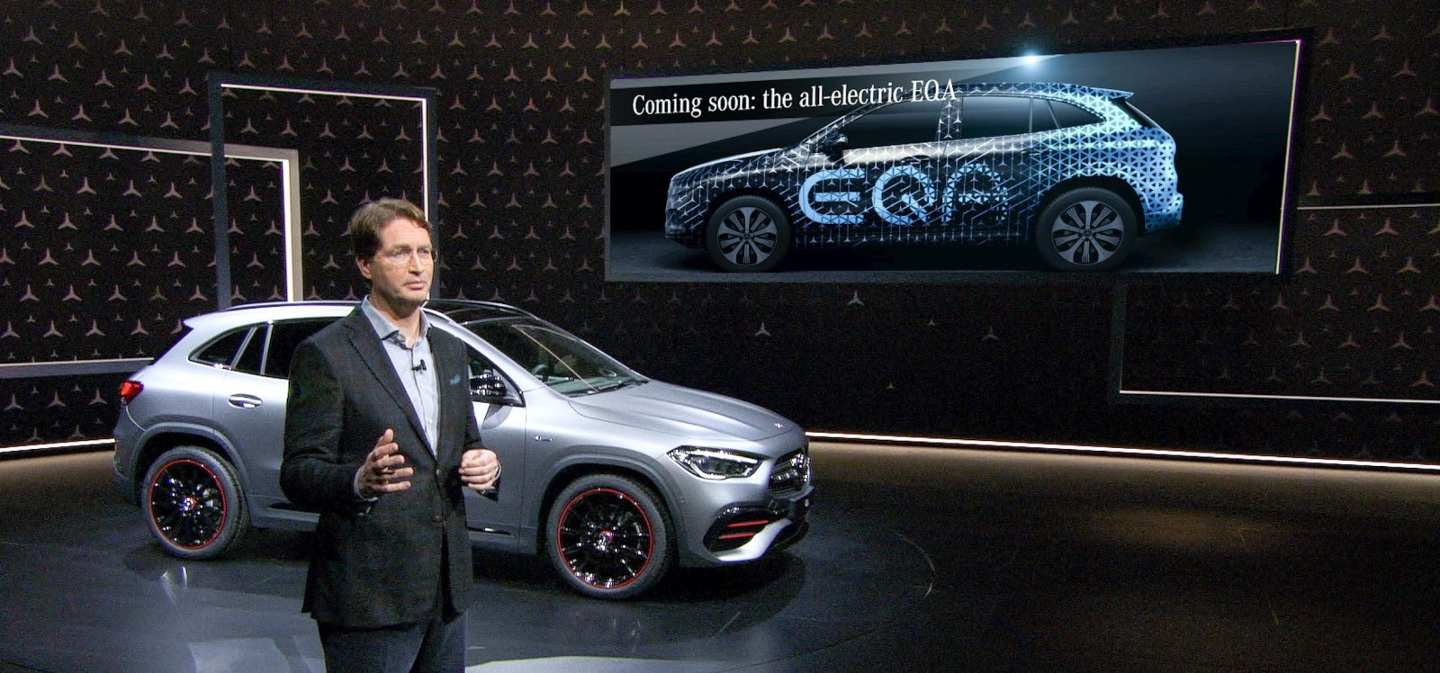 Mercedes-Benz teases EQA electric car – moving from hatchback to crossover