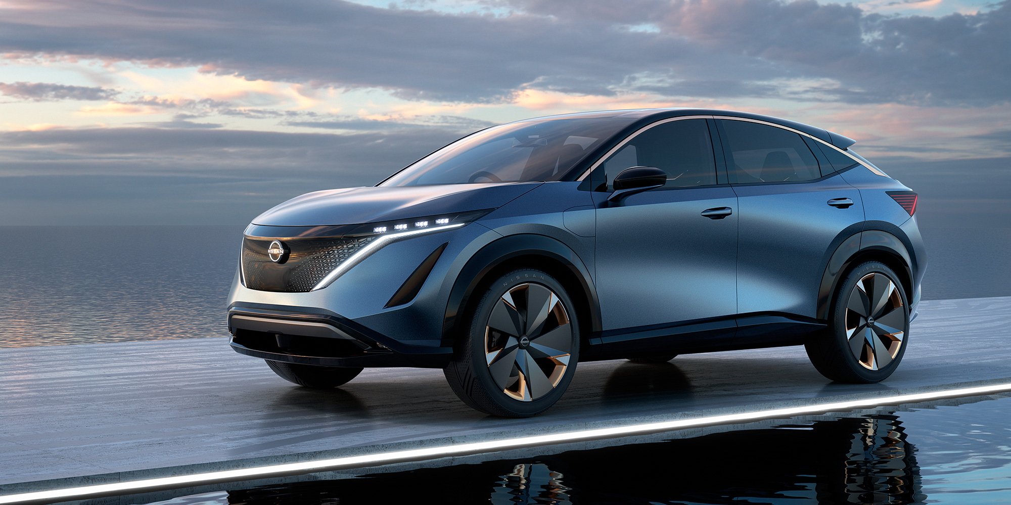 Nissan To Premiere Electric Ariya Crossover On July 15 Taking On Tesla Model Y Electrek
