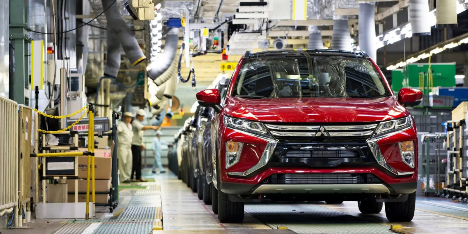 Used EV batteries will power Mitsubishi's electric-vehicle manufacturing plant