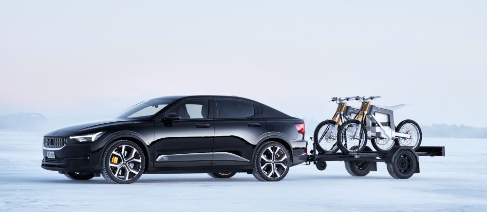 Volvo-owned Polestar partners with CAKE's Swedish electric motorcycles