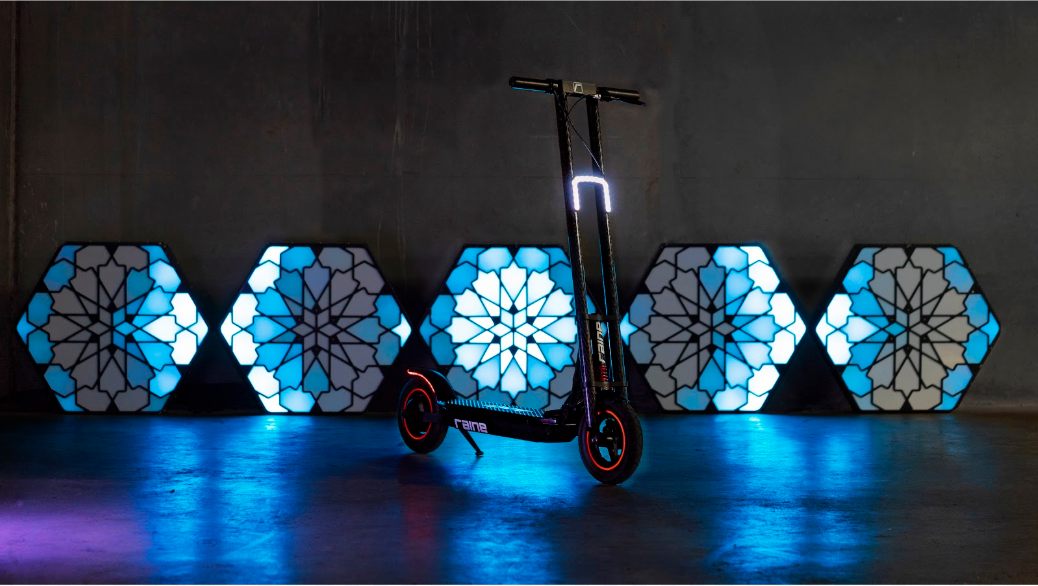 Raine electric scooter's founders promise it isn't a Kickstarter scam