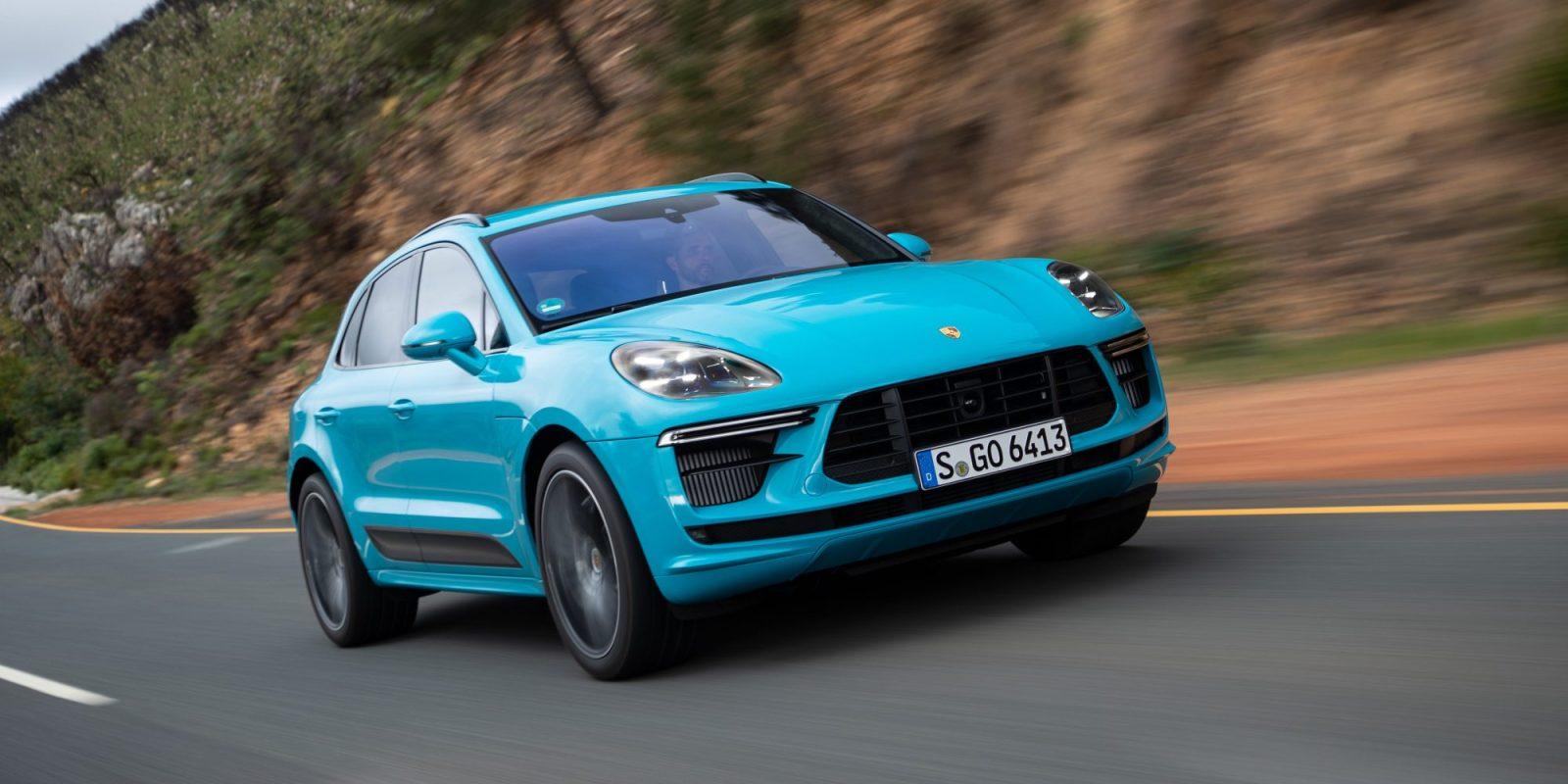 Porsche testing 4-motor electric SUV drivetrain – the next Macan?