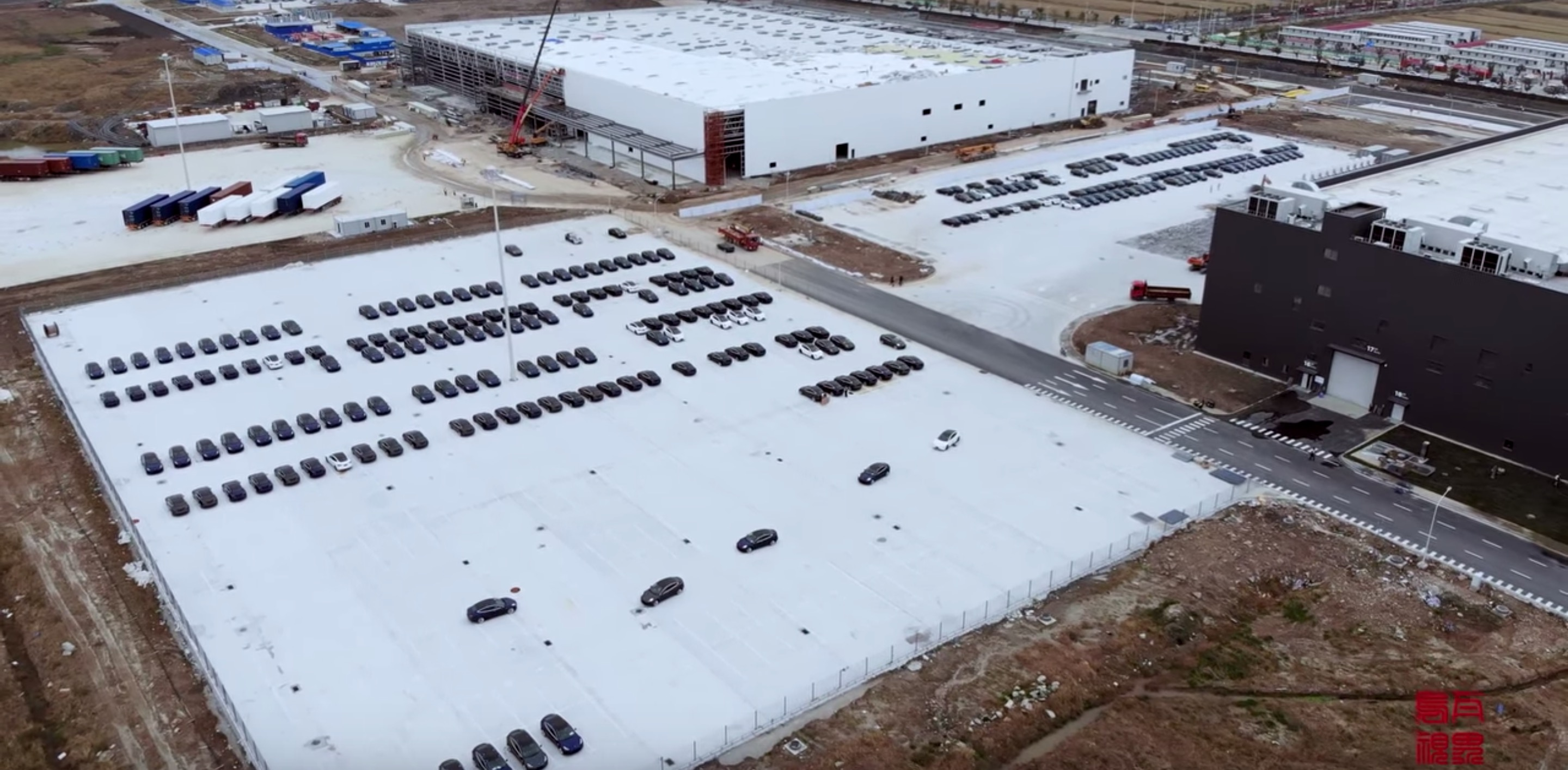 Tesla Gigafactory 3 starts producing a lot of Model 3 vehicles, but still no sales approval - Electrek