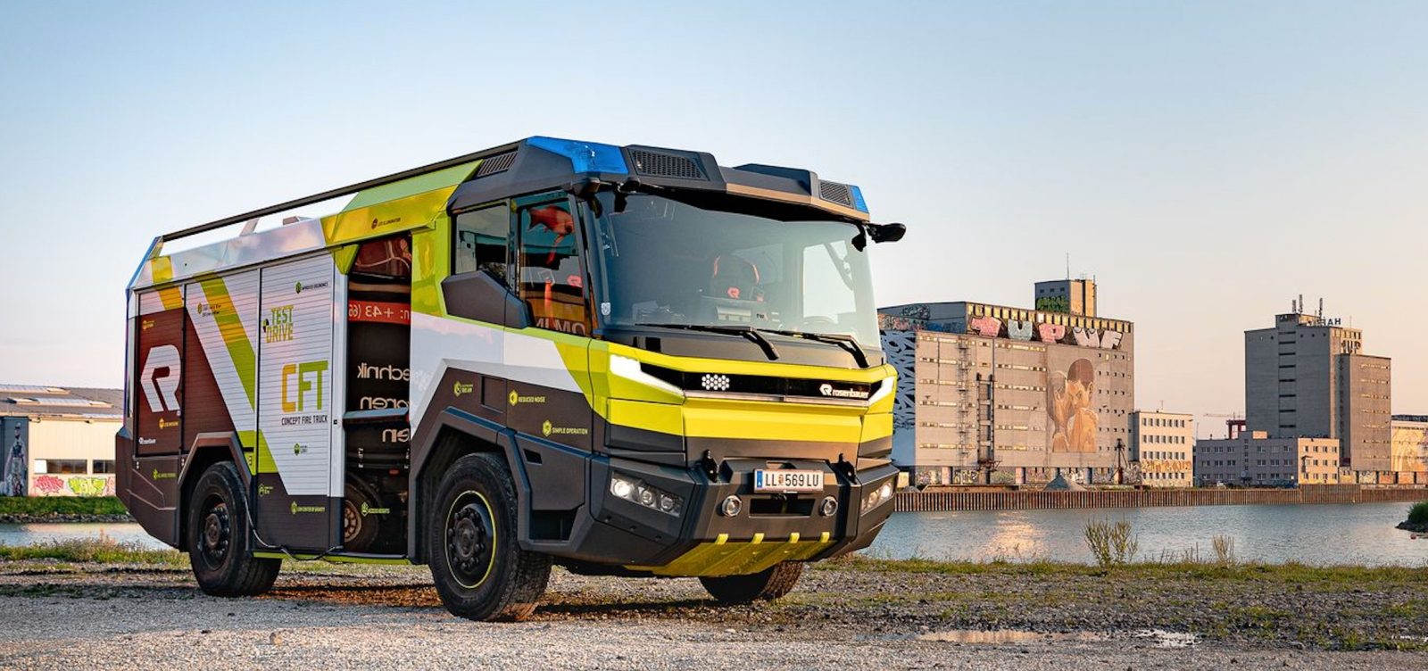 This $6 million electric fire engine is coming to the US