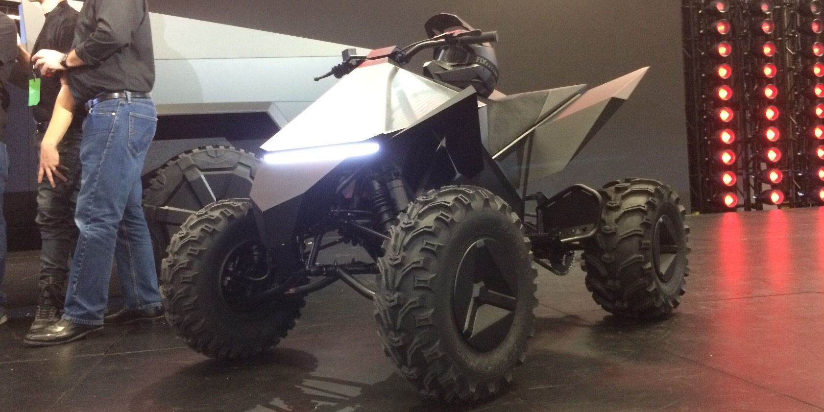 Tesla To Launch Cyberquad Electric Atv In Late 2021 Hints At Possible Dirt Bike Electrek