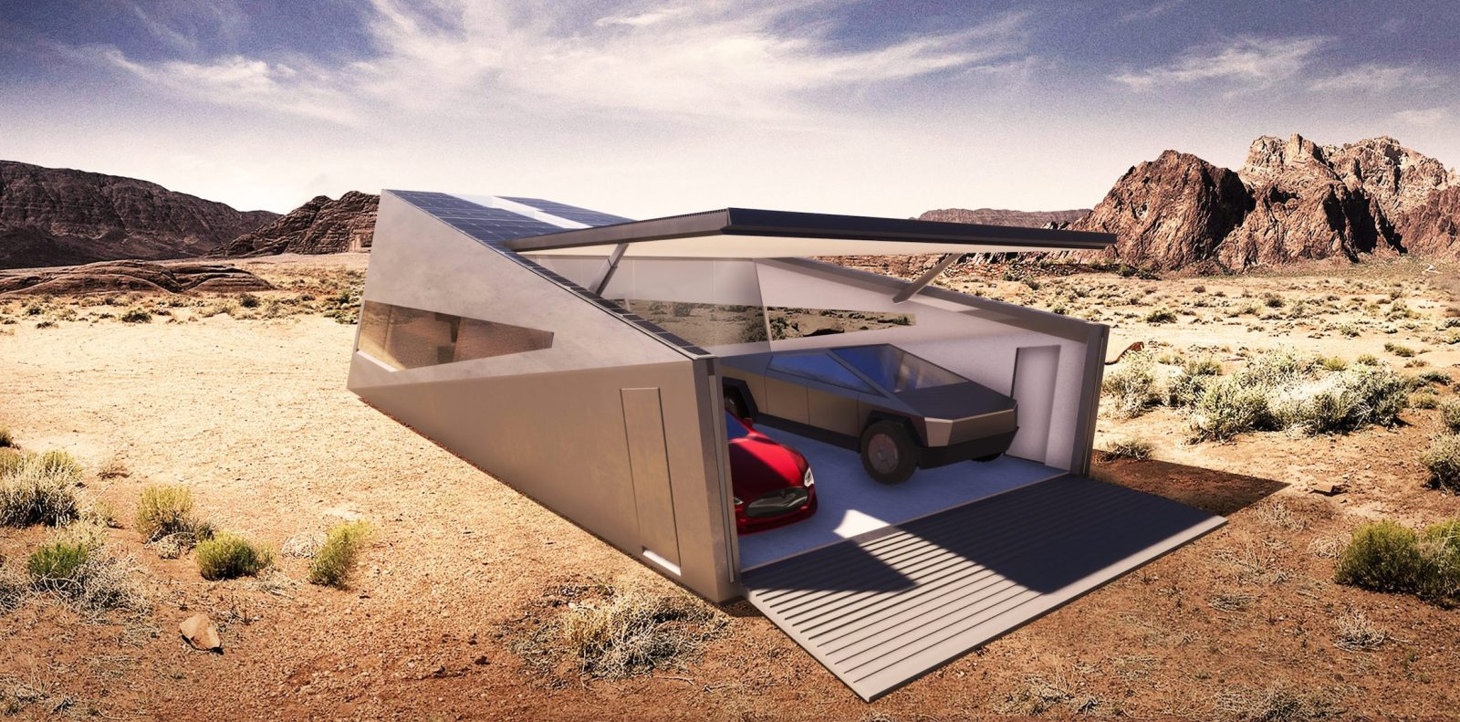 Tesla Cybertruck now even gets its own garage: Cybunker