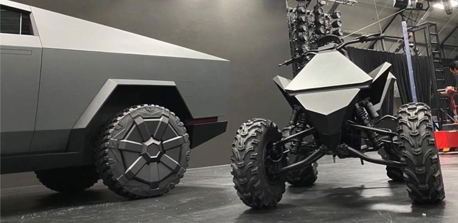 Watch Tesla electric ATV prototype silently crawl in rare footage - Electrek